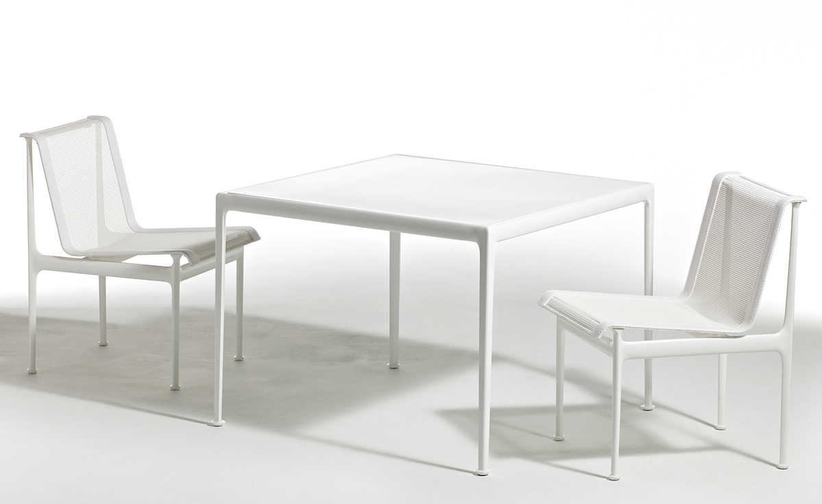 richard schultz  square dining table  hivemoderncom - overview