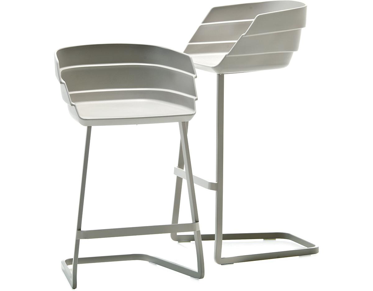 Rift Bar Stool hivemoderncom : rift bar stool with seat cushion patricia urquiola moroso 3 from hivemodern.com size 1200 x 936 jpeg 130kB