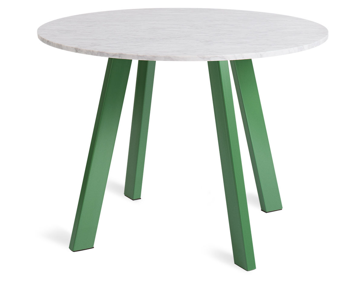 Blue Dot Dining Table Right Round Dining Table Hivemoderncom