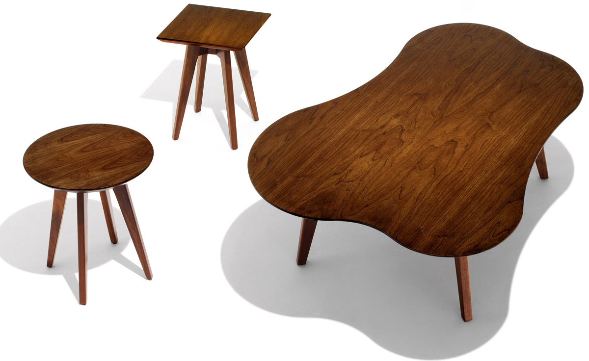 Risom amoeba coffee table hivemodern overview geotapseo Choice Image