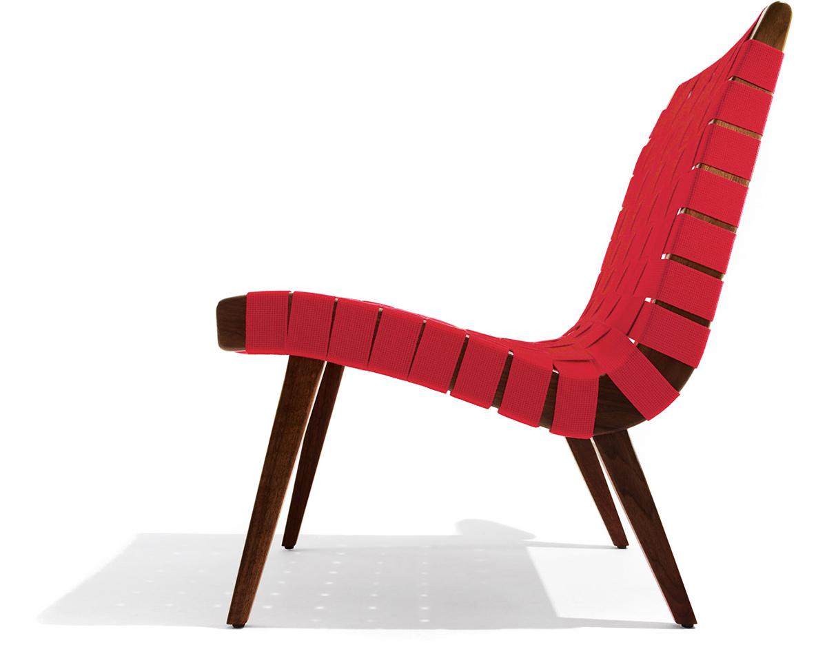 Jens Risom Lounge Chair Hivemodern Com