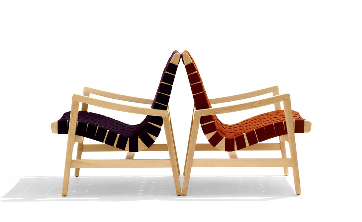Merveilleux Jens Risom Lounge Chair