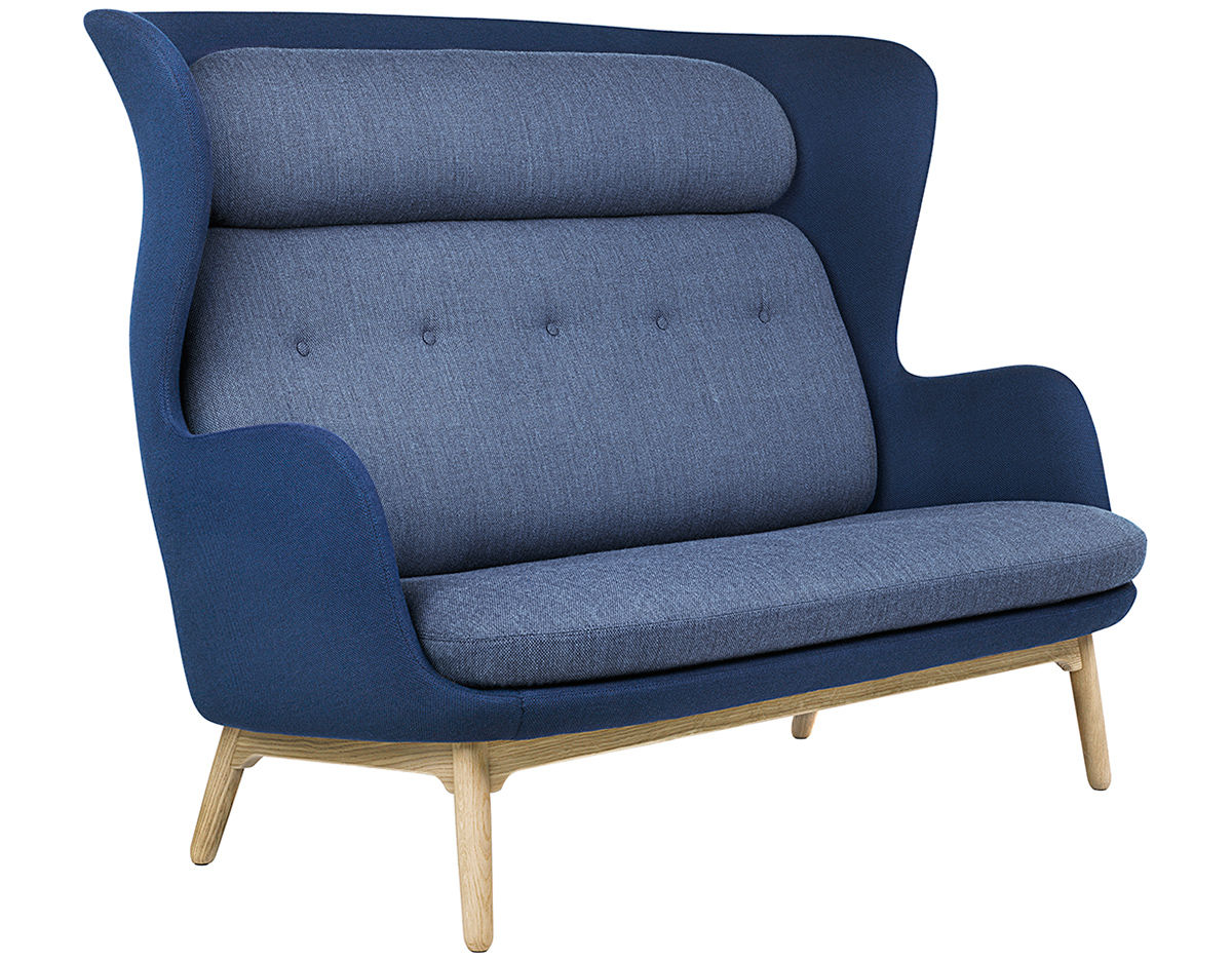 Ro™ Sofa With Wood Base