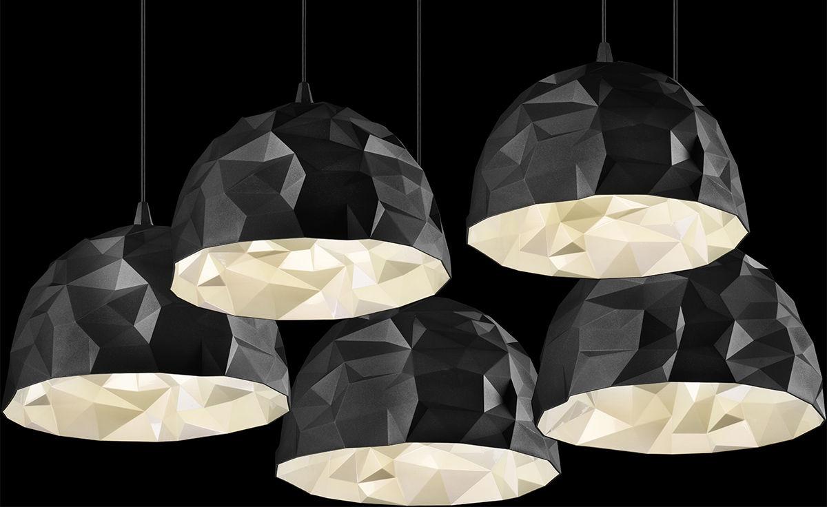 Rock Suspension Lamp