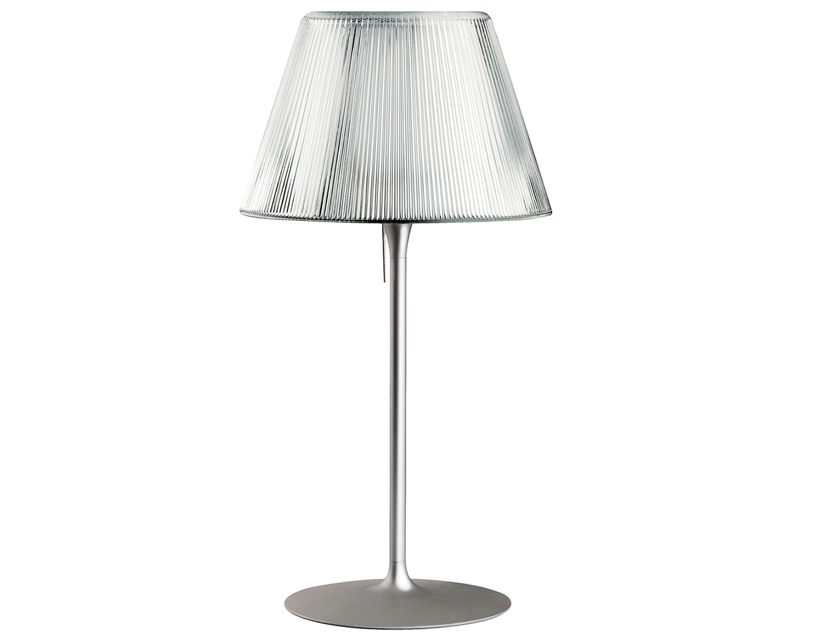 Romeo moon t1 medium table lamp for Philippe starck glass table