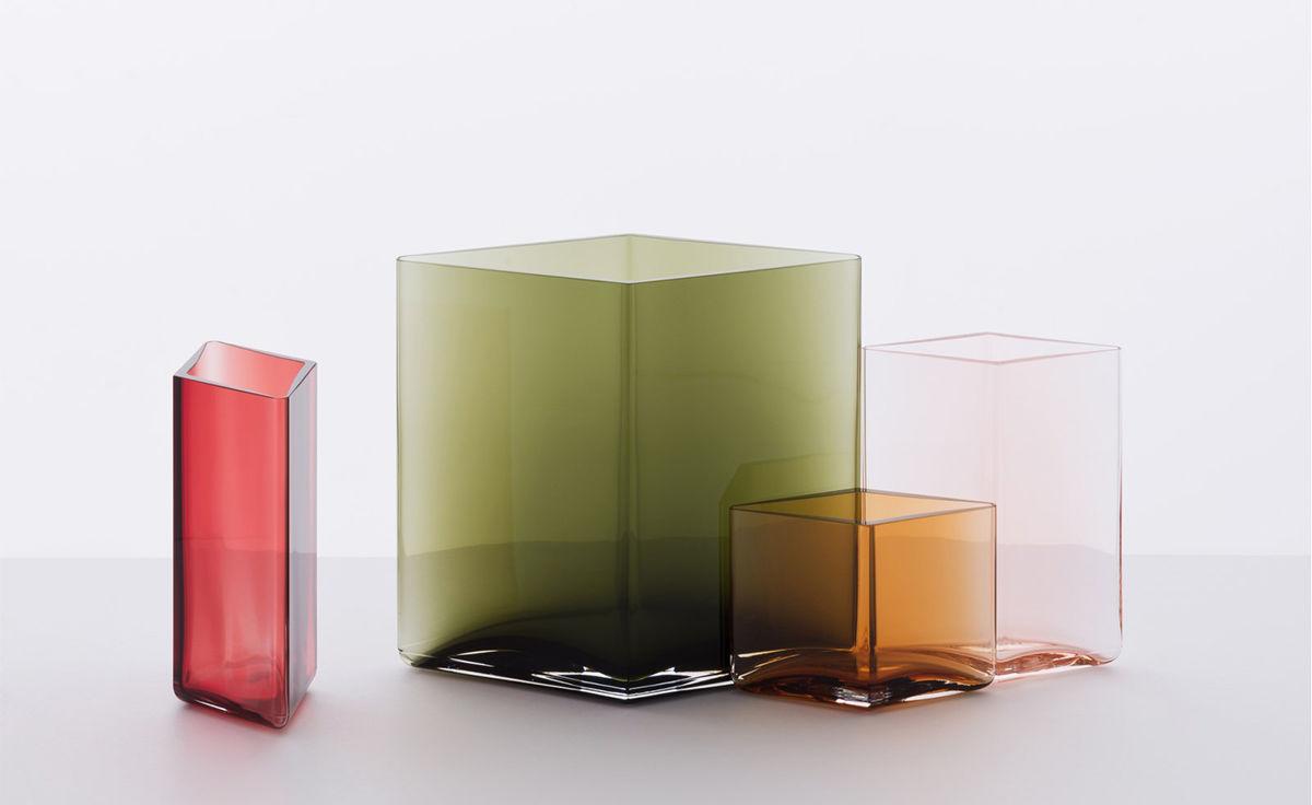 ruutu 7 1 inch tall vase. Black Bedroom Furniture Sets. Home Design Ideas