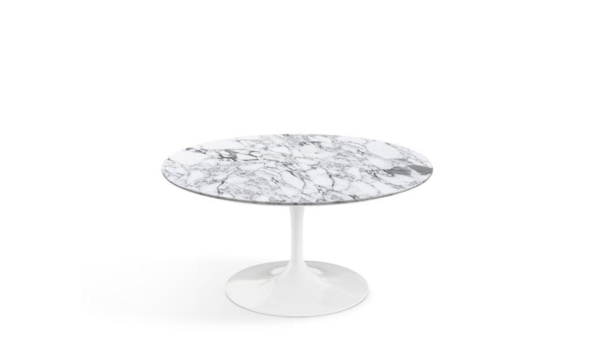 Saarinen Coffee Table Arabescato Marble