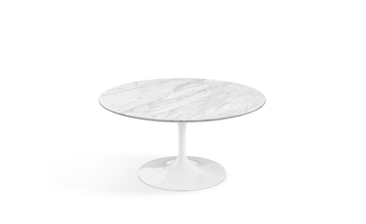 Saarinen Coffee Table Calacatta Marble Hivemodern Com
