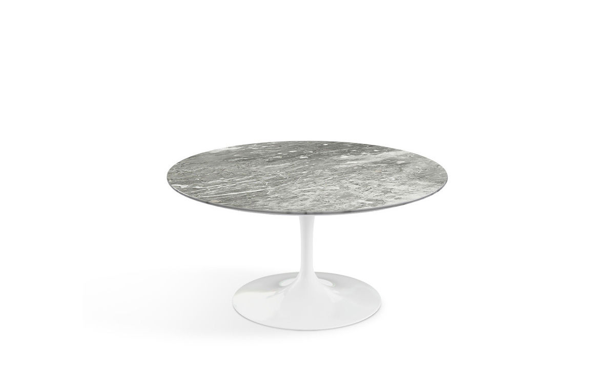 Saarinen Coffee Table Grey Marble
