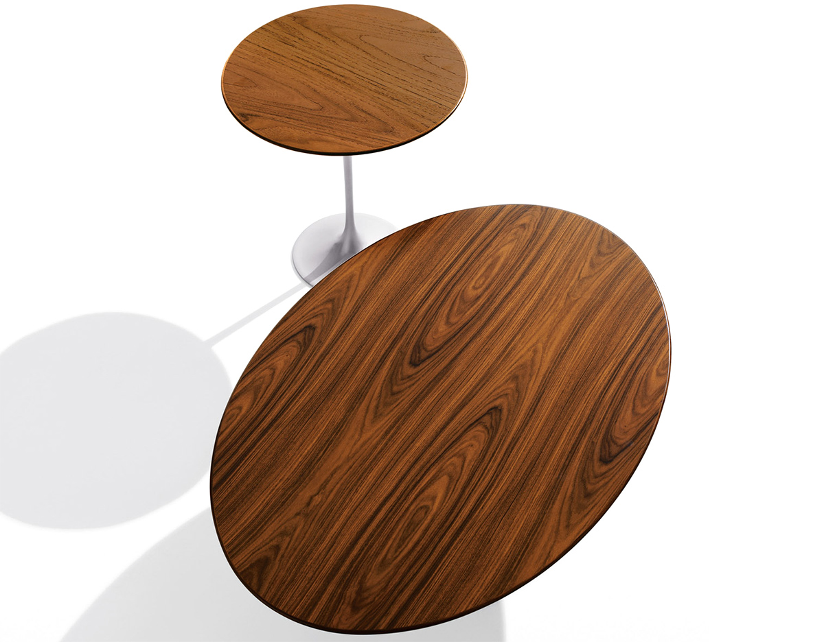 Saarinen Coffee Table Teak Or Rosewood Hivemoderncom