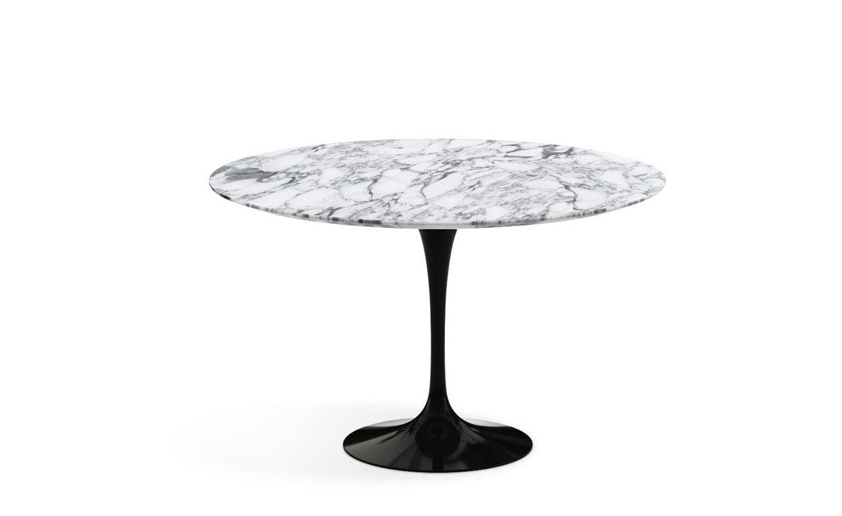 Saarinen Dining Table Arabescato Marble Hivemodern Com