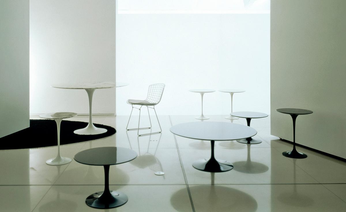 Saarinen Dining Table Arabescato Marble Hivemoderncom - Saarinen dining table