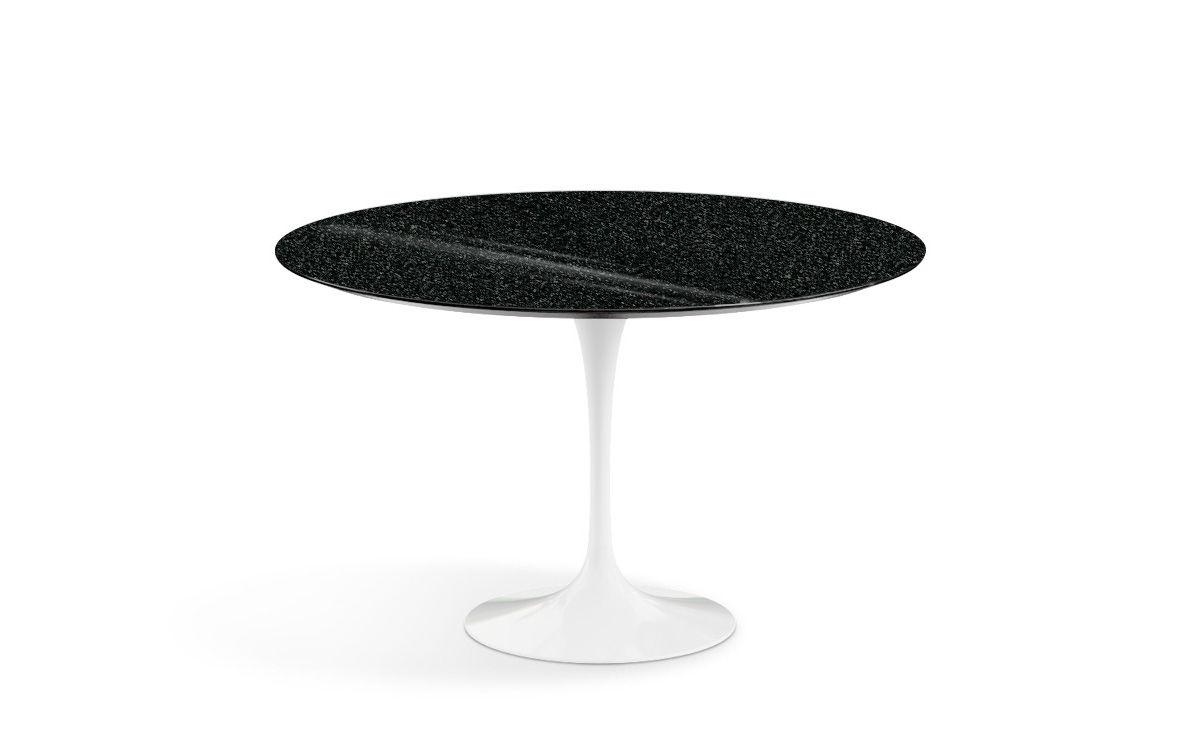 Saarinen Dining Table Black Granite Hivemodern Com