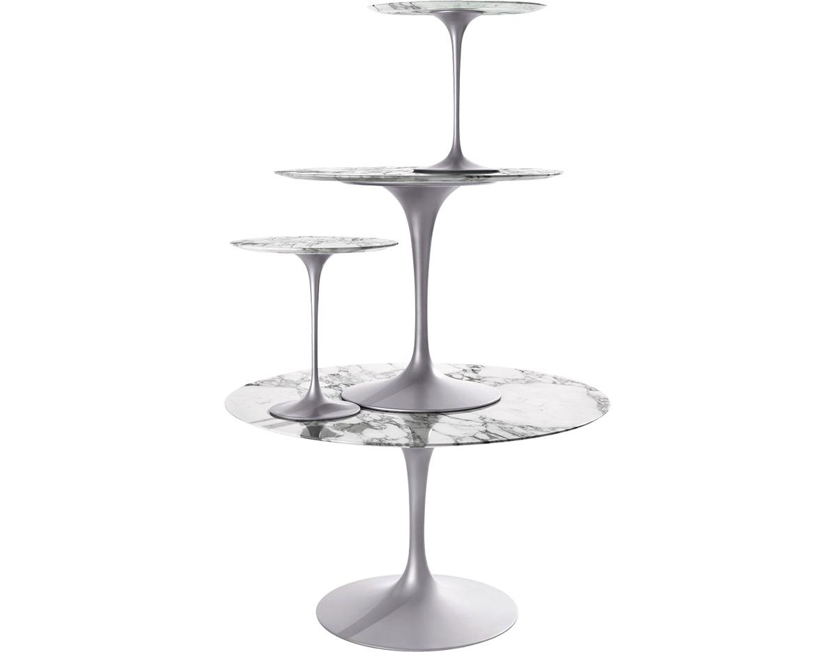 Saarinen Dining Table Calacatta Marble hivemoderncom