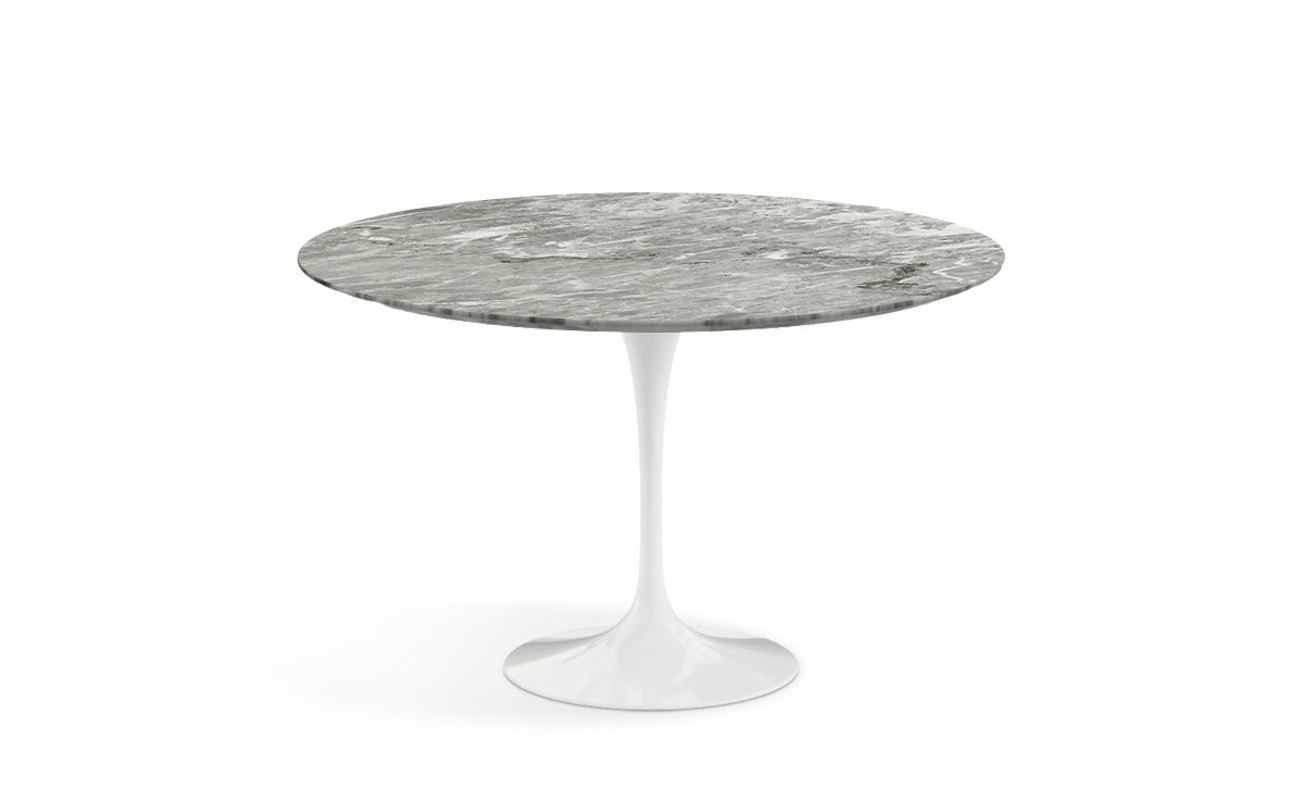 Saarinen Dining Table Grey Marble Hivemodern Com