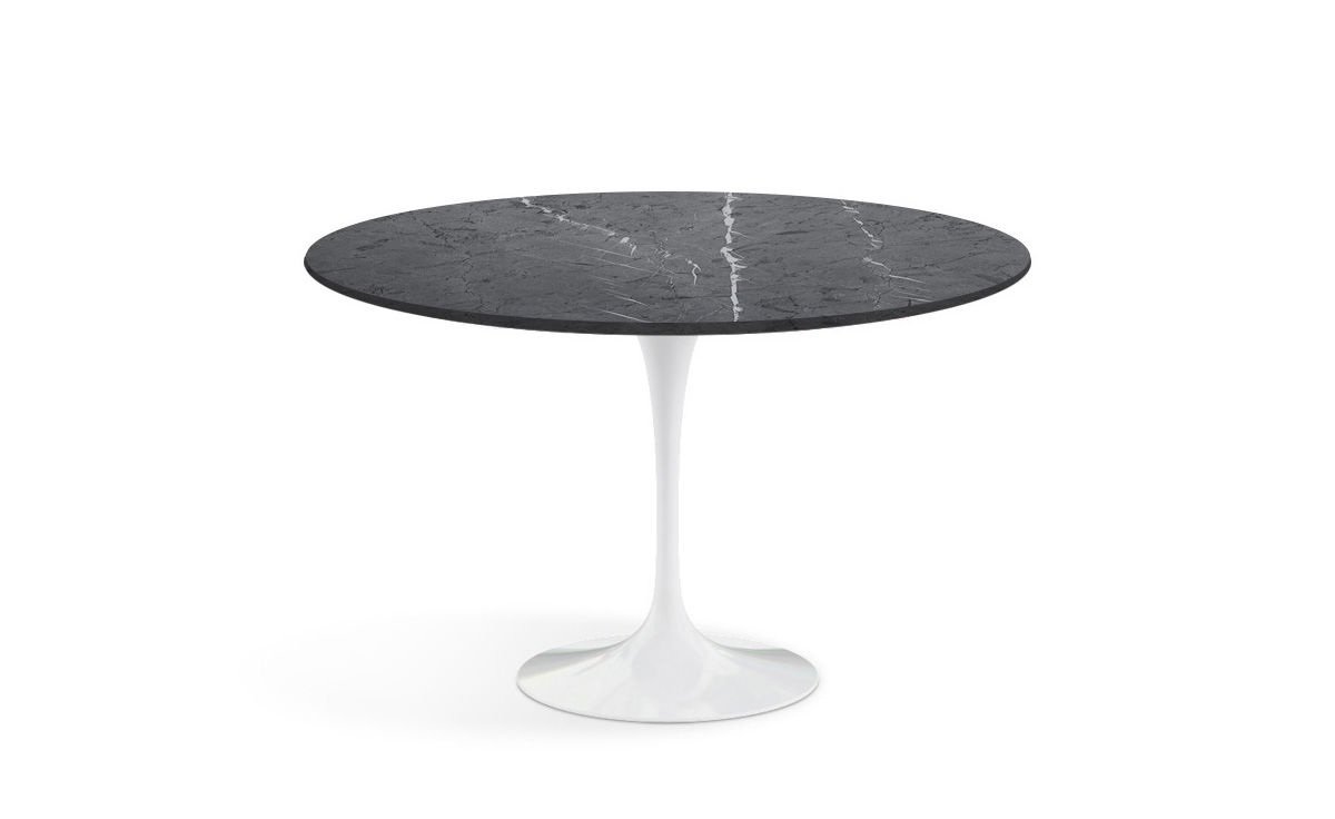 saarinen dining table grigio marquina marble. Black Bedroom Furniture Sets. Home Design Ideas
