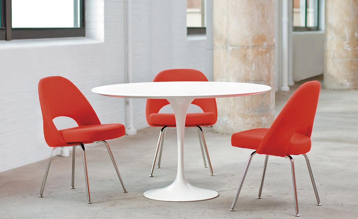 Verwonderend Saarinen Dining Table Laminate Top - hivemodern.com ZL-34