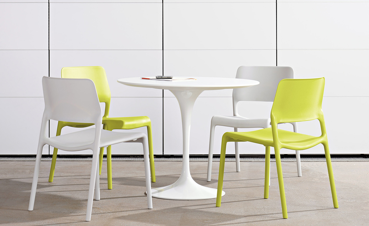 Welp Saarinen Dining Table Laminate Top - hivemodern.com ZB-18