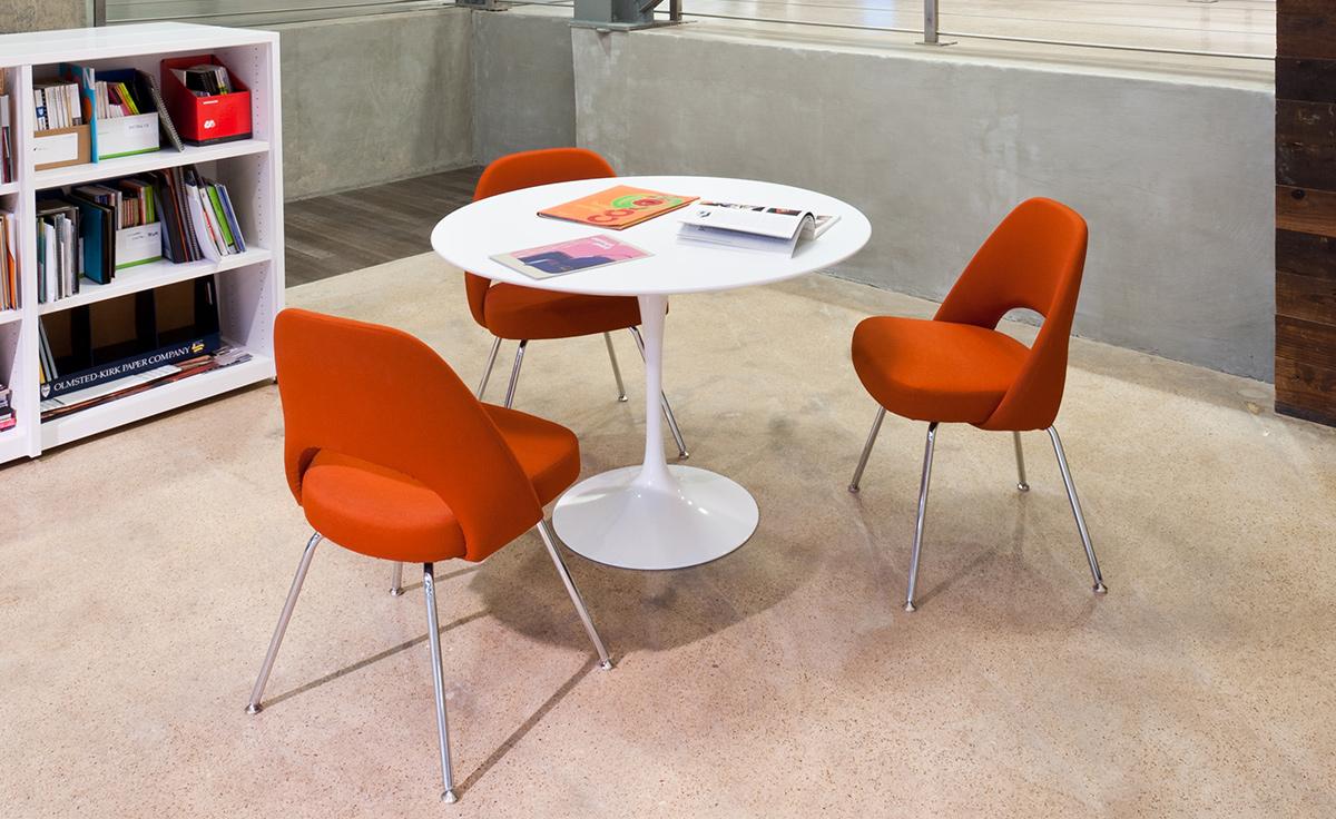 Welp Saarinen Dining Table Laminate Top - hivemodern.com BV-79