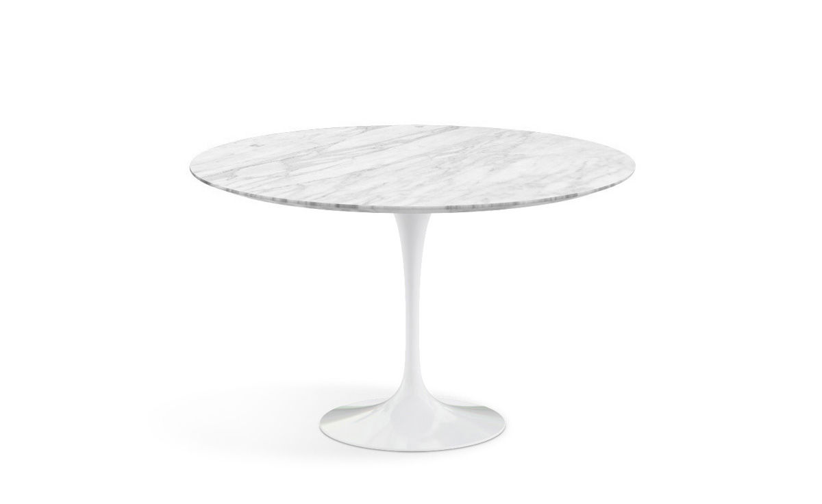 saarinen dining table natural marbles. Black Bedroom Furniture Sets. Home Design Ideas