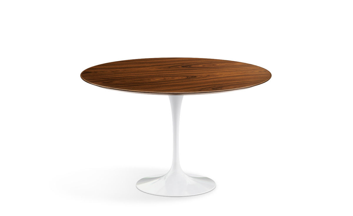 saarinen dining table teak or rosewood. Black Bedroom Furniture Sets. Home Design Ideas