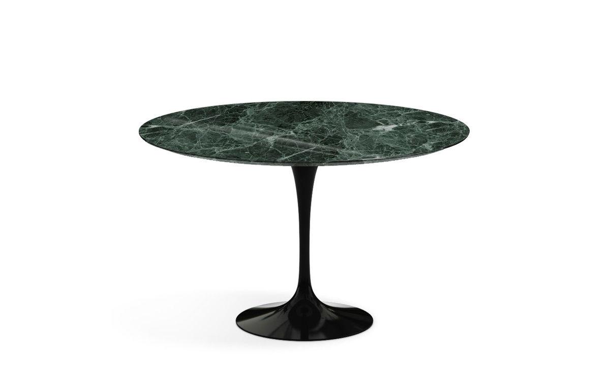 Saarinen Dining Table Verdi Alpi Green Marble Hivemodern Com