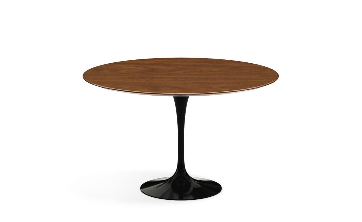 saarinen dining table wood options. Black Bedroom Furniture Sets. Home Design Ideas