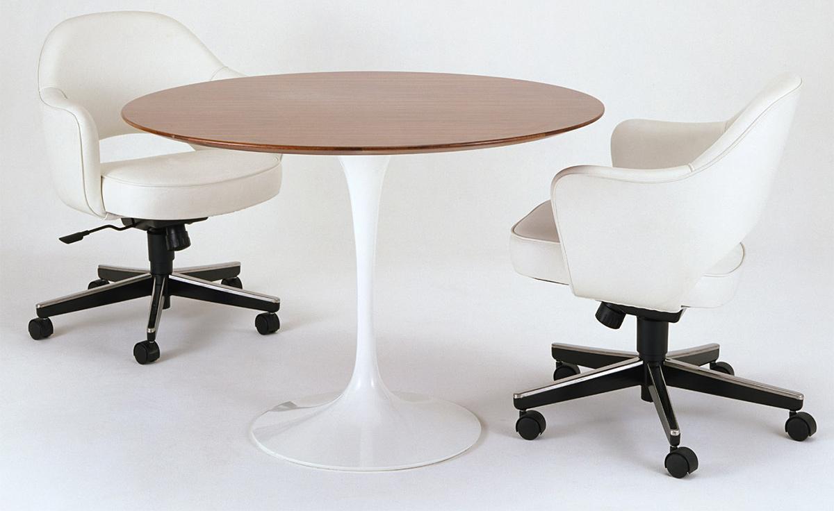Dining Table Wood Saarinen Dining Table Wood Options Hivemoderncom