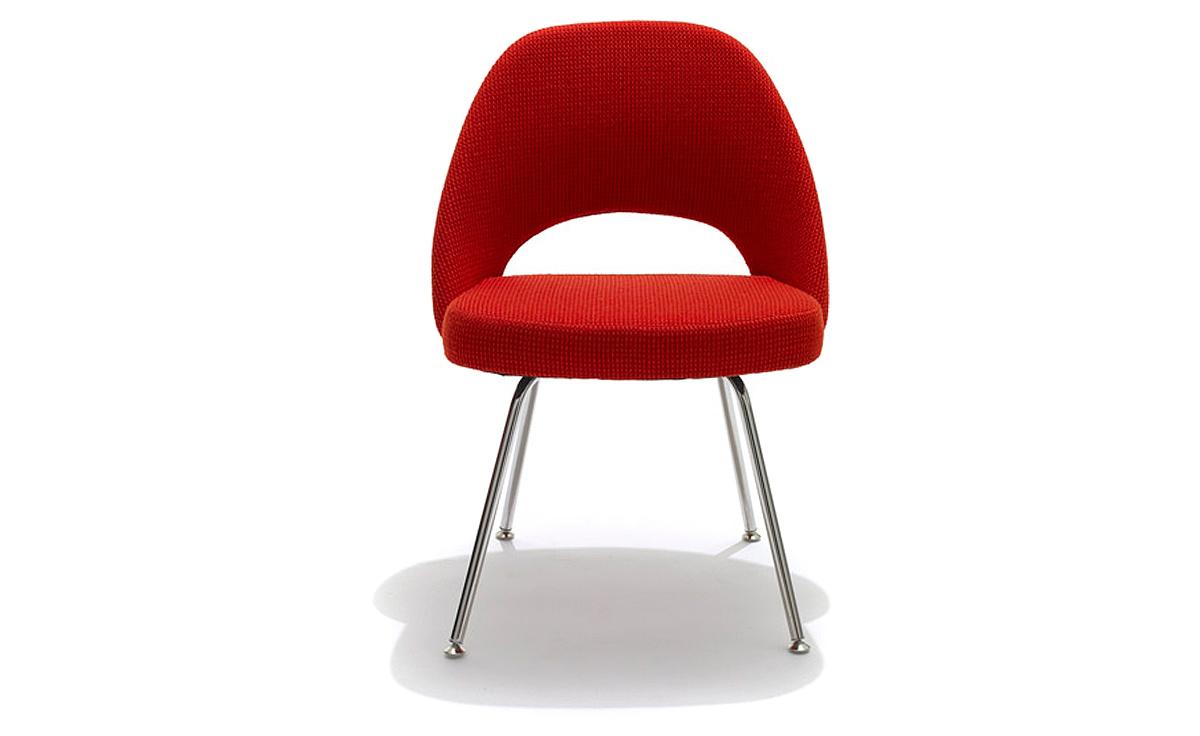 Delicieux Saarinen Executive Side Chair With Metal Legs