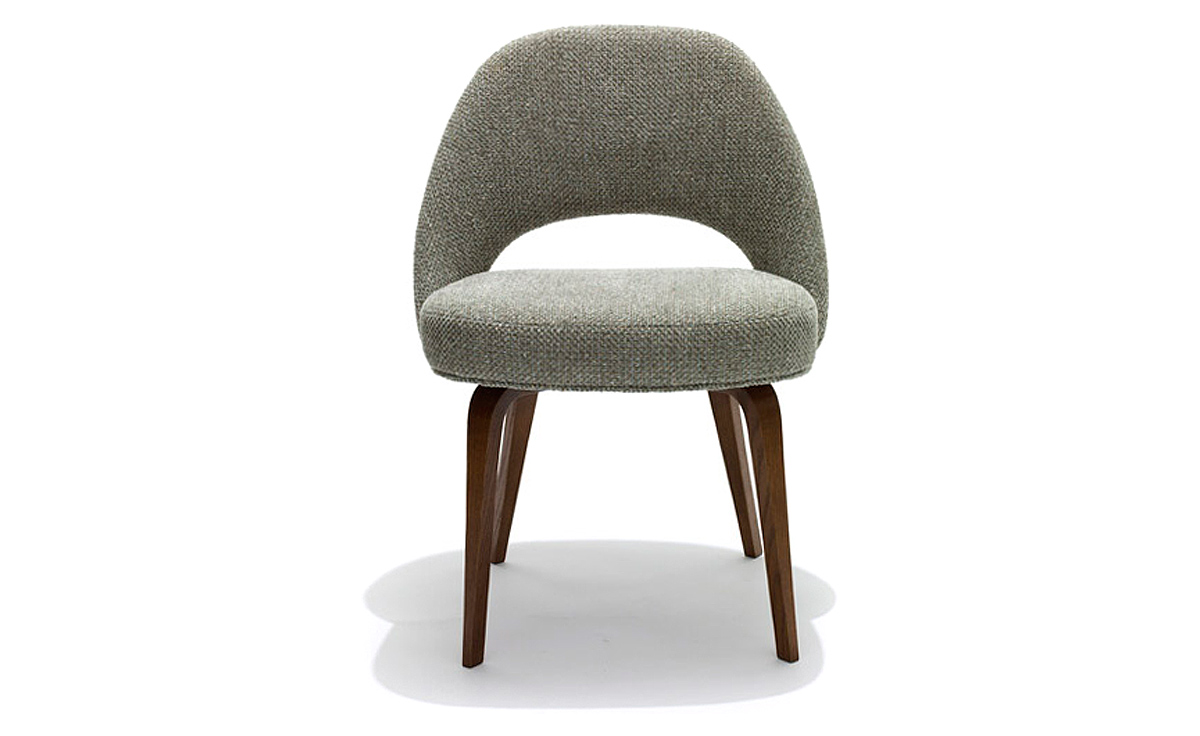 About A Chair 12 Side Chair.Saarinen Executive Side Chair With Wood Legs Hivemodern Com