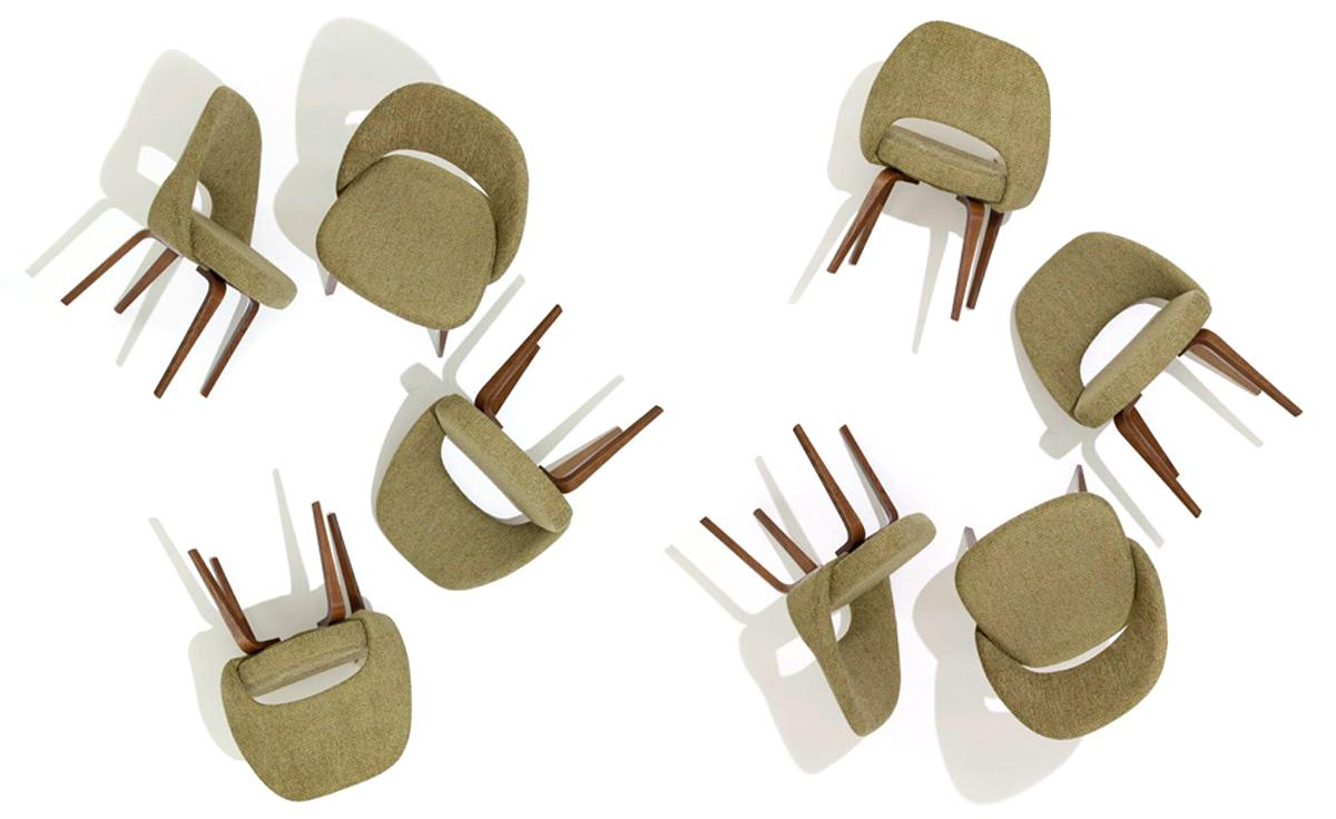 Cool Saarinen Executive Side Chair With Wood Legs Ibusinesslaw Wood Chair Design Ideas Ibusinesslaworg
