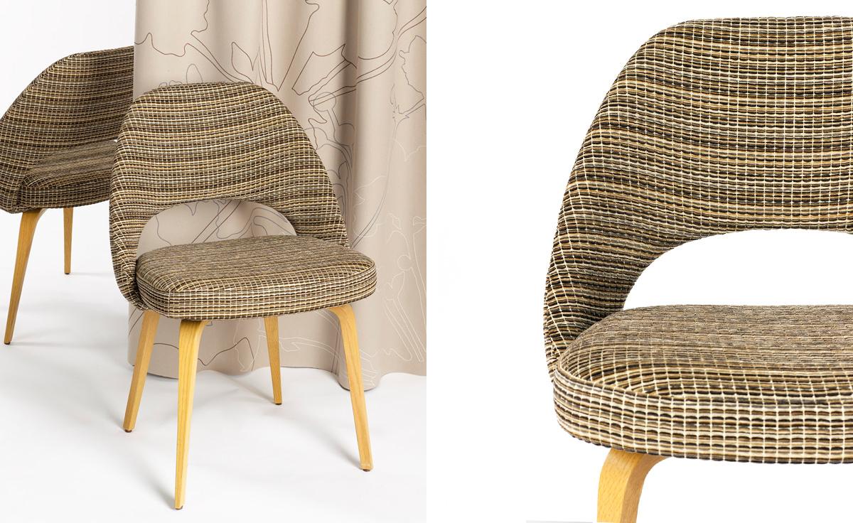 Terrific Saarinen Executive Side Chair With Wood Legs Ibusinesslaw Wood Chair Design Ideas Ibusinesslaworg