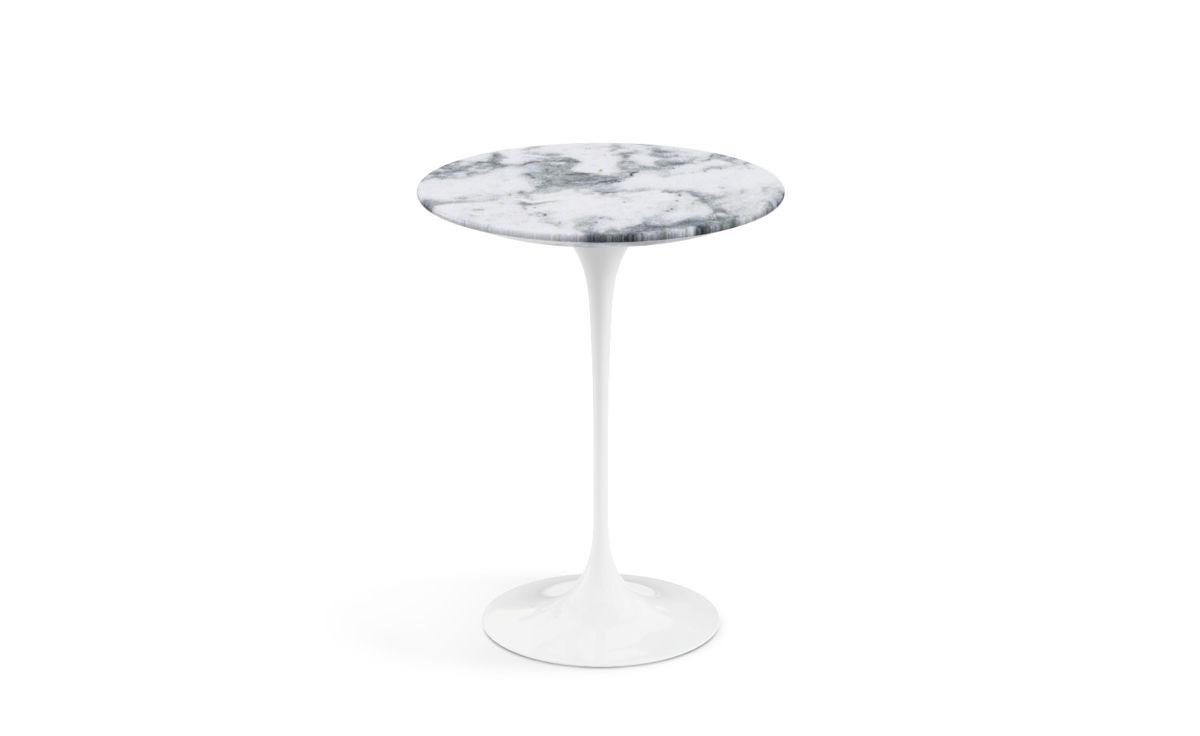 Saarinen Side Table Arabescato Marble Hivemodern Com