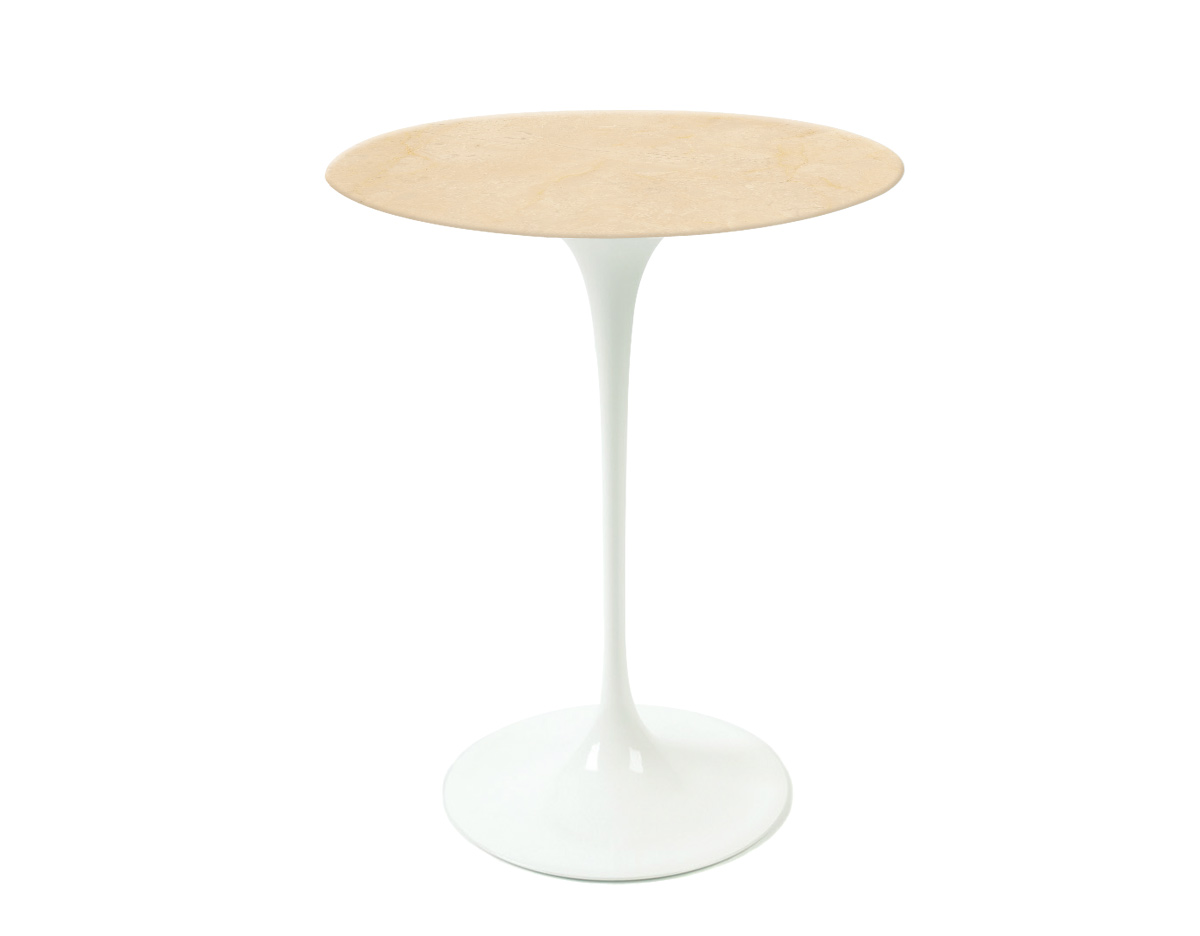 saarinen side table empire beige marble. Black Bedroom Furniture Sets. Home Design Ideas