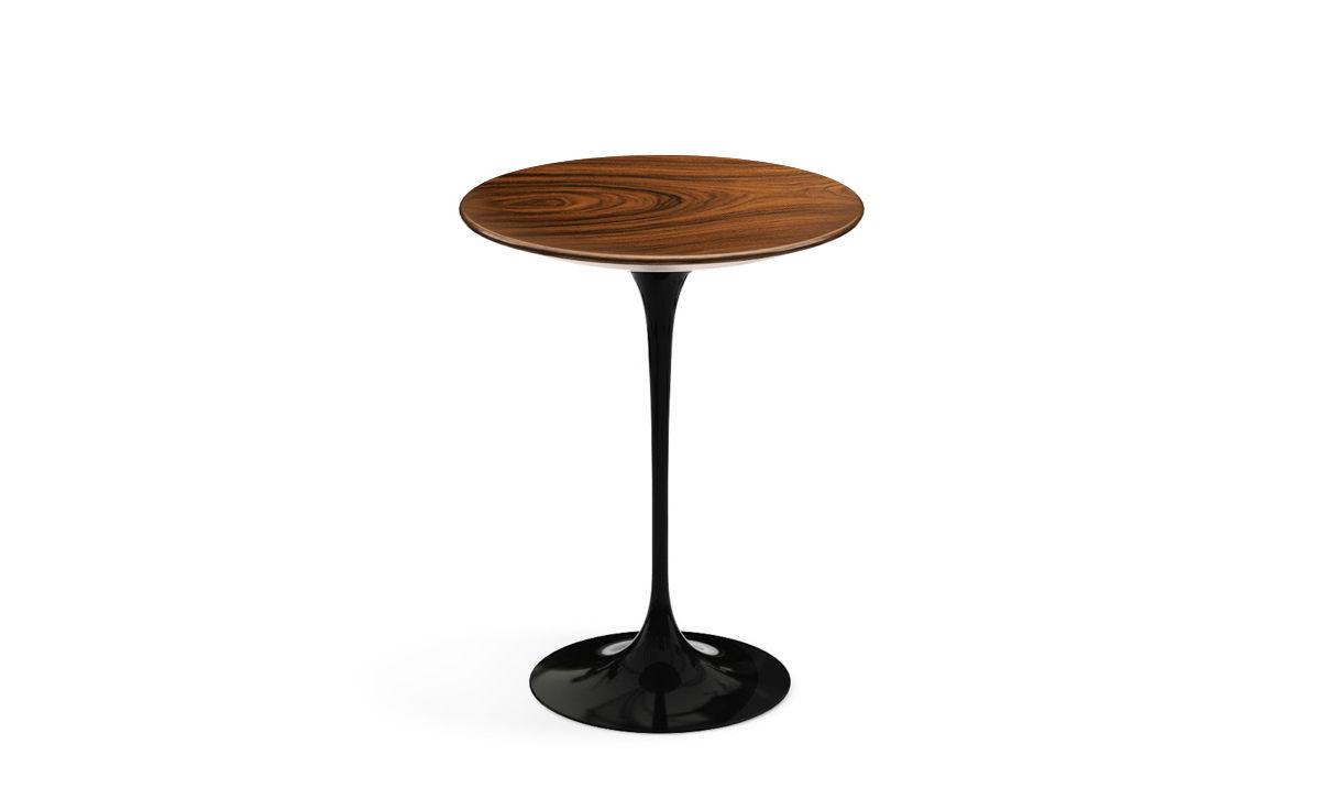 Saarinen side table teak or rosewood hivemodern com