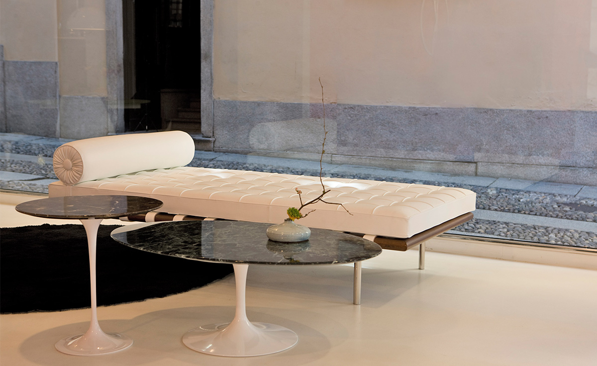 Saarinen Side Table Verdi Alpi Green Marble Hivemodern Com