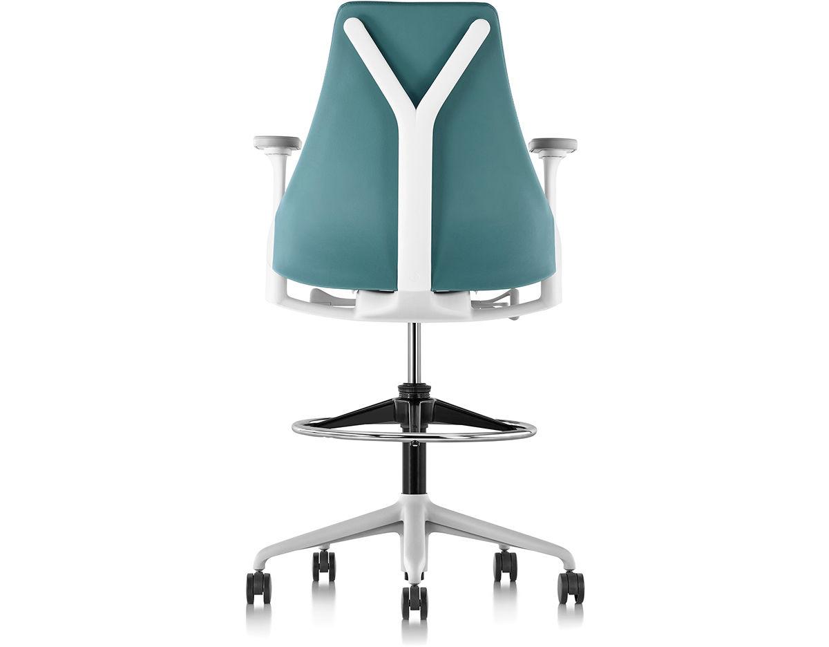 Sayl Upholstered Stool Hivemoderncom - Sayl chair