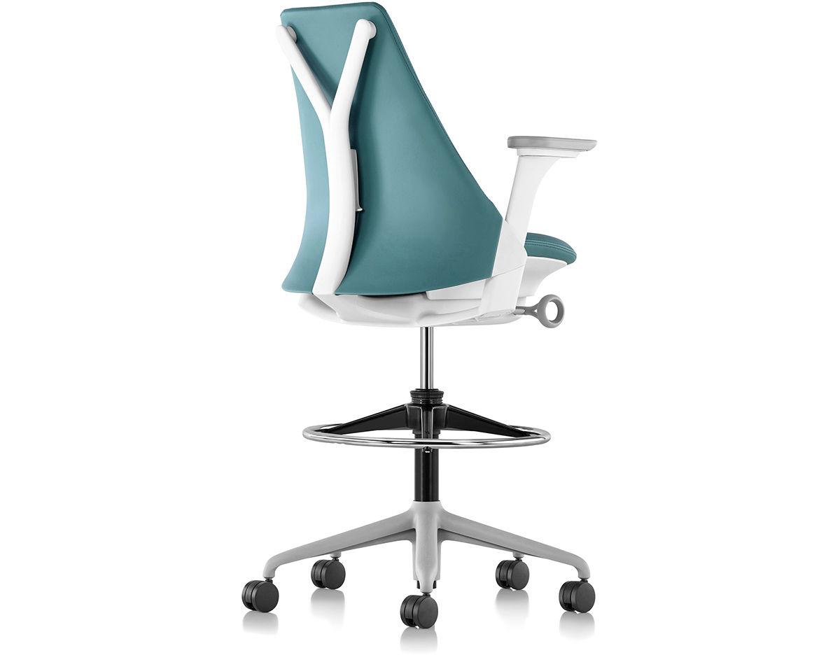 Sayl Chair sayl® upholstered stool - hivemodern