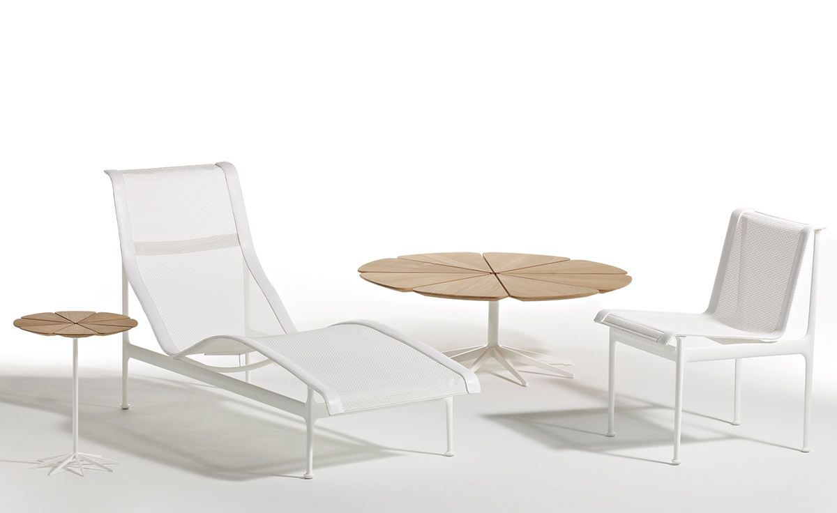 schultz petal end table hivemodern com rh hivemodern com john v schultz outdoor furniture richard schultz outdoor furniture price