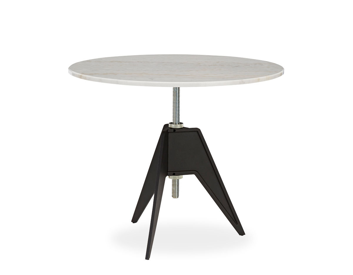 Screw Cafe Table With Round Top