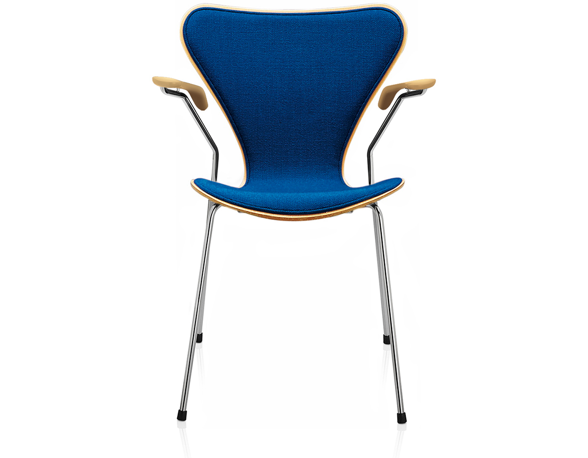 Series 7 Arm Chair Front Upholstered Hivemodern Com