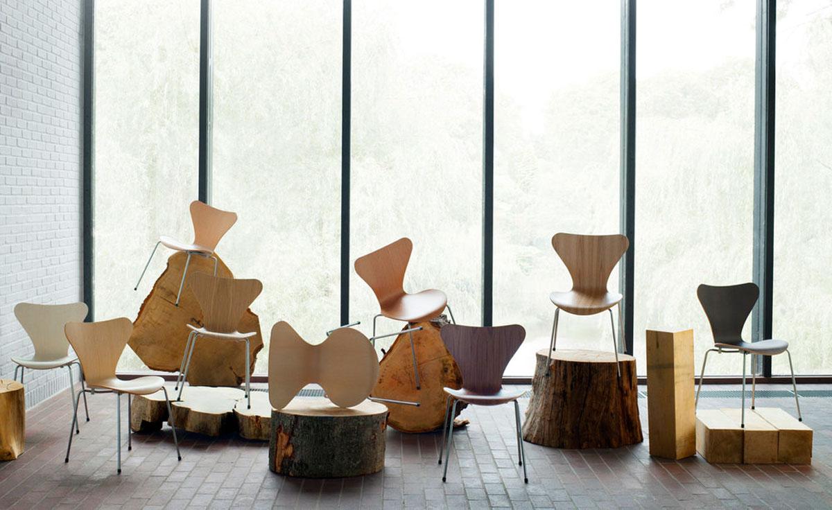 Series 7 Side Chair Wood Veneer Hivemodern Com