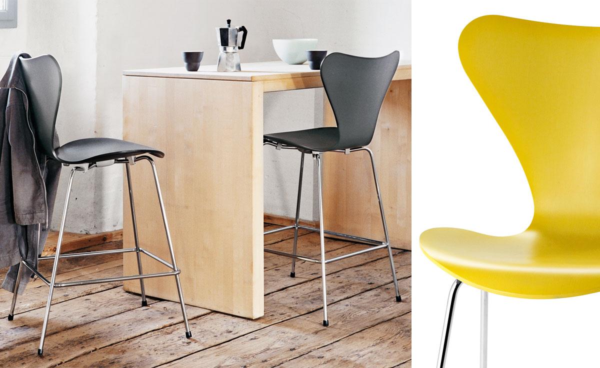 series 7 stool color. Black Bedroom Furniture Sets. Home Design Ideas
