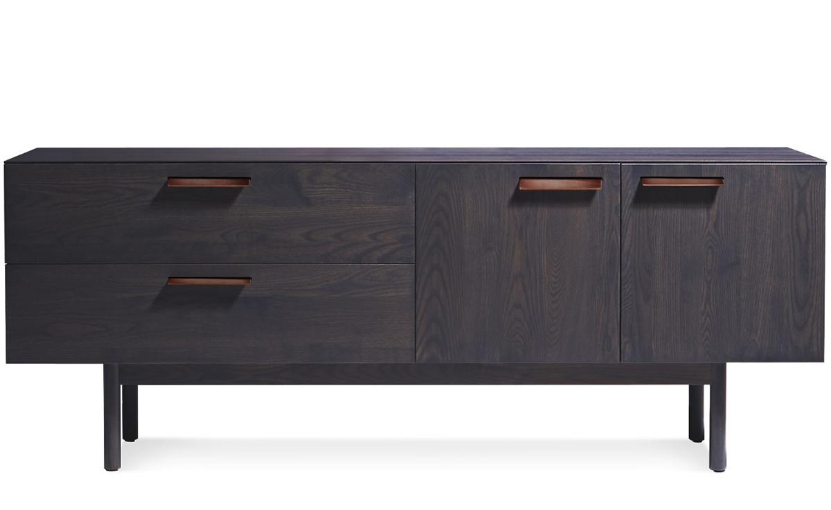 Shale 2 Drawer 2 Door Dresser Hivemodern Com