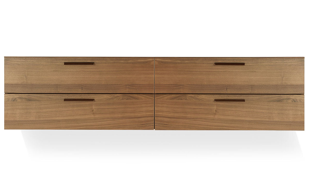 Shale 4 Drawer Wall Mounted Dresser Hivemodern Com