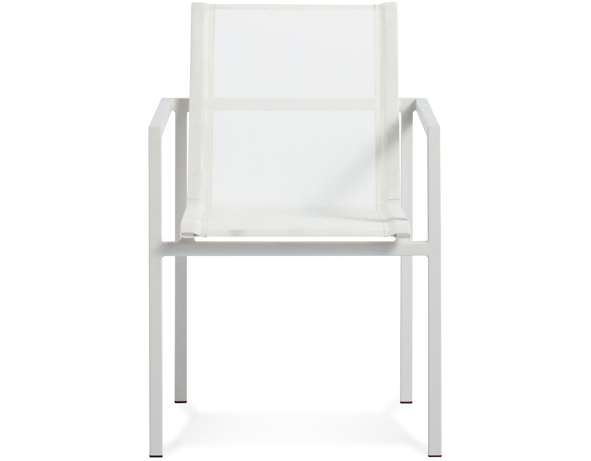Skiff Outdoor Stacking Chair Hivemodern Com