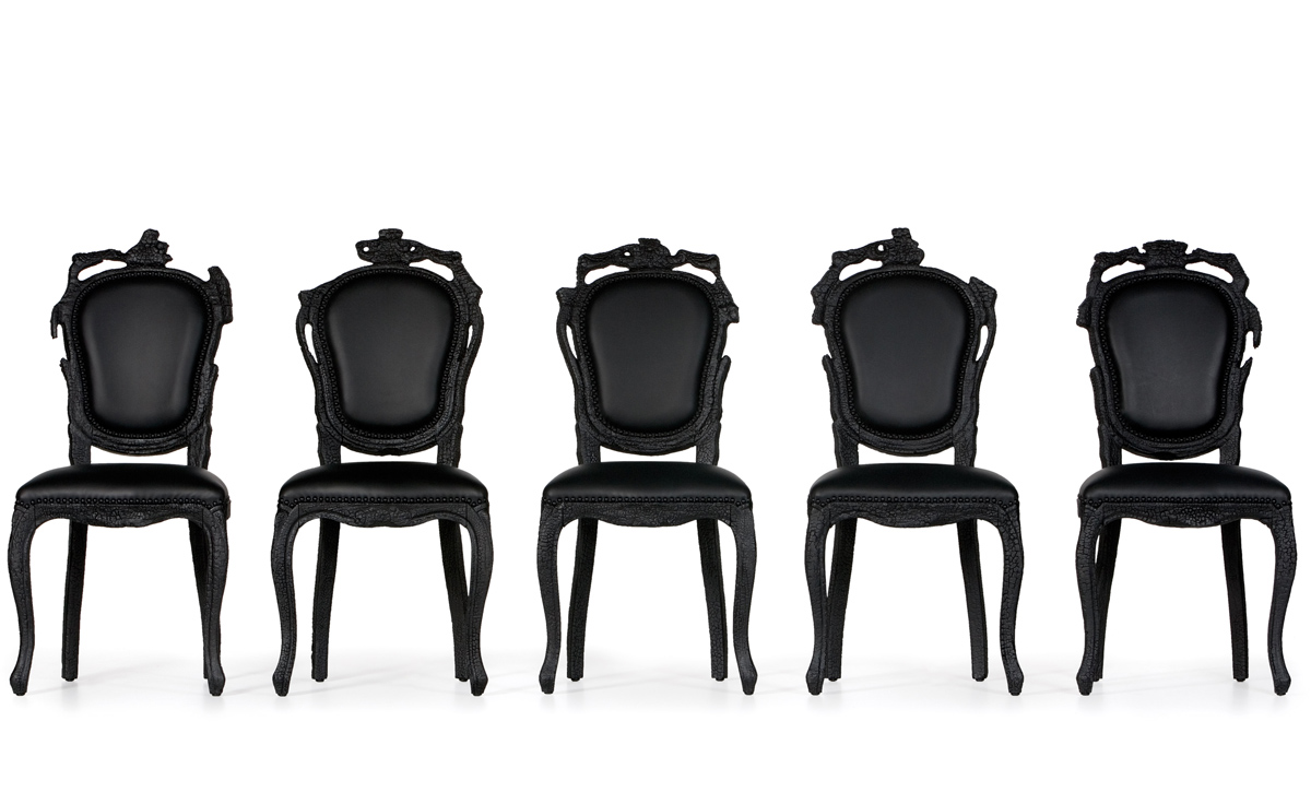 Smoke Dining Chair - h...