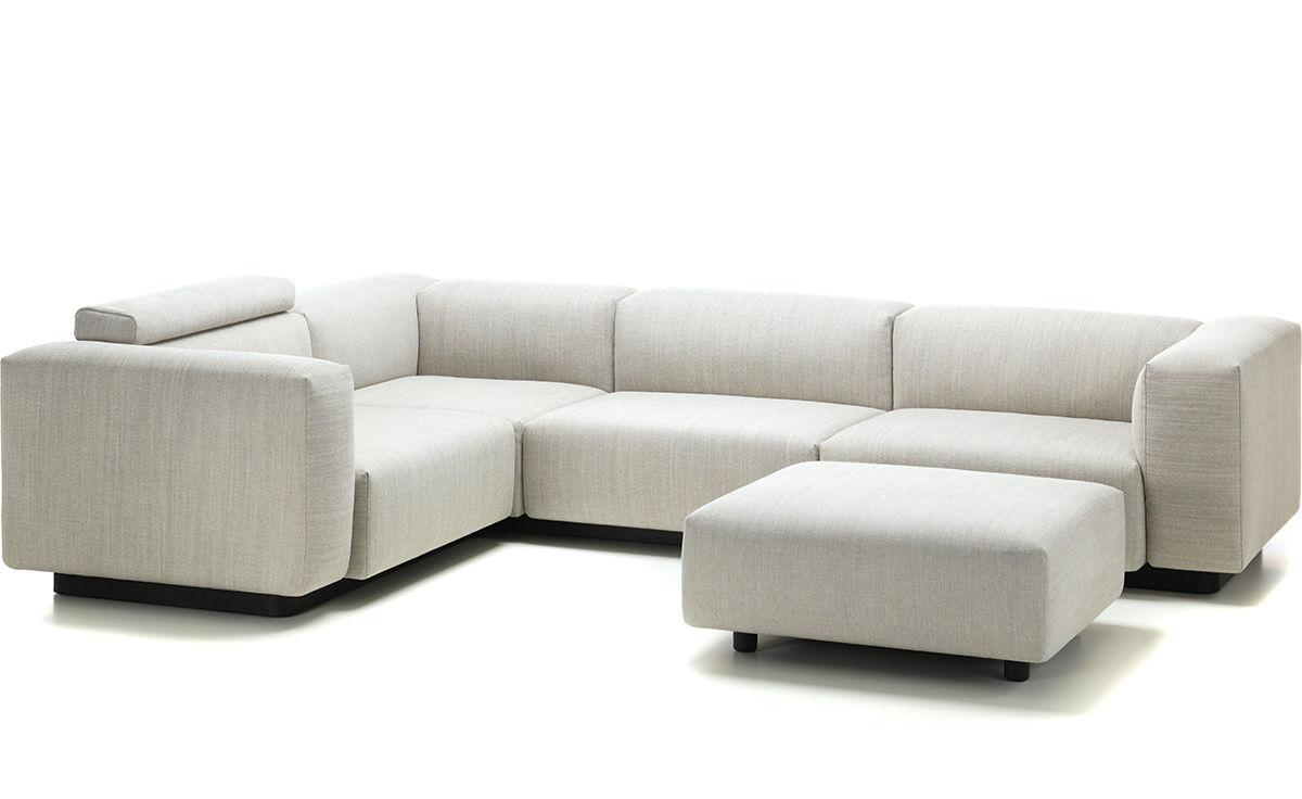 soft modular sectional sofa jasper morrison vitra