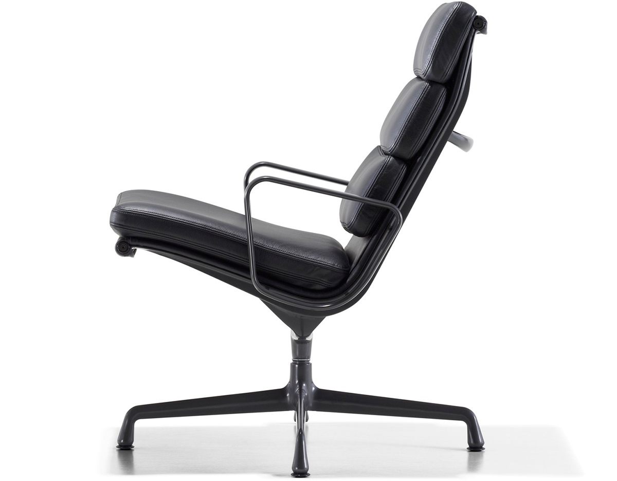 Eames Soft Pad Lounge Chair eames® soft pad group lounge chair - hivemodern
