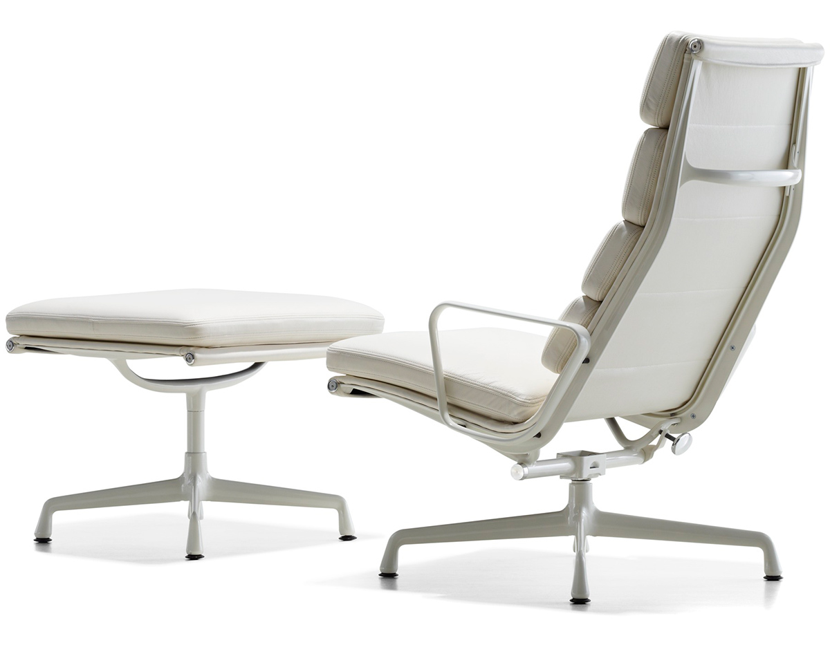eames soft pad group lounge chair ottoman